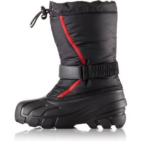 Sorel Flurry Boots Children Black/Bright Red